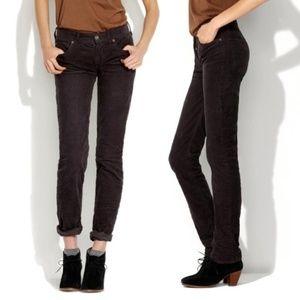 Madewell Brown Rail Straight Corduroy Pants
